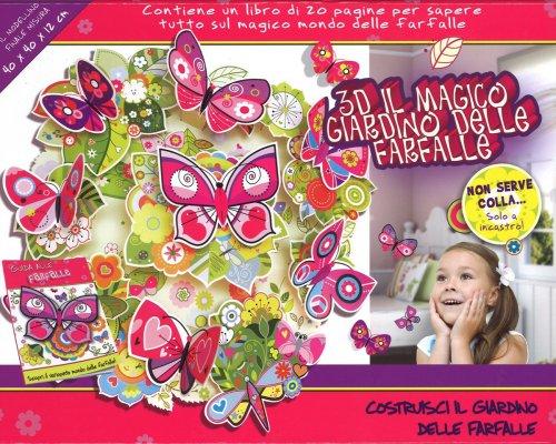 3D Il Magico Giardino delle Farfalle