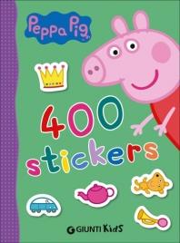 400 Stickers. Peppa Pig