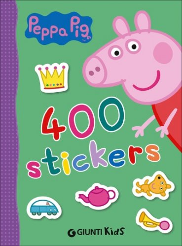 400 Stickers. Peppa Pig