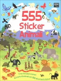 555 Sticker - Animali