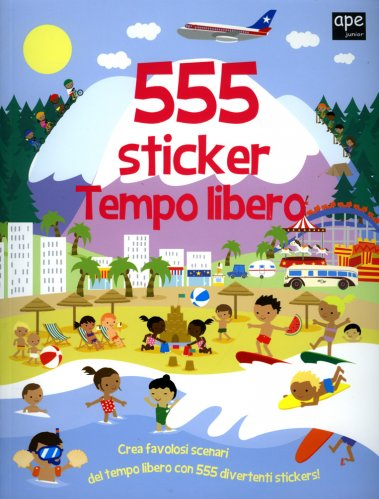 555 Sticker - Tempo Libero