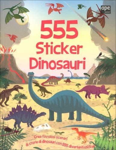 555 Sticker - Dinosauri