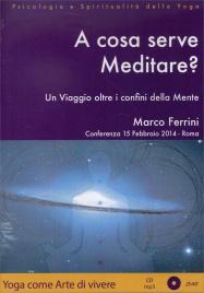 A COSA SERVE MEDITARE? - CD MP3 Conferenza del 15 Febbraio 2014 a Roma di Marco Ferrini