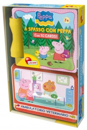 A Spasso Con Peppa - Libro con 30 Cards - Dai 3 Anni