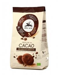 Frollini al Cacao Con Gocce di Cioccolato Bio