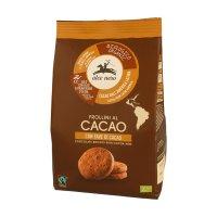 Frollini al Cacao con Fave Bio - Fairtrade