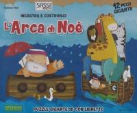 INCASTRA E COSTRUISCI - L'ARCA DI NOè Puzzle gigante 3D con libretto di Mathew Neil