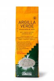Argilla Verde Essiccata al Sole 1000 gr.
