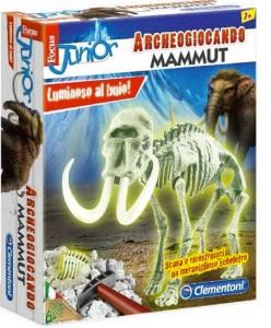 ARCHEOGIOCANDO MAMMUT Scava e ricostruisci un meraviglioso scheletro - Luminoso al buio! di Scava e ricostruisci un meraviglioso scheletro - Luminoso al buio!