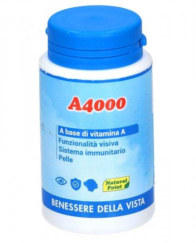A4000 - Integratore Naturale a Base di Vitamina A