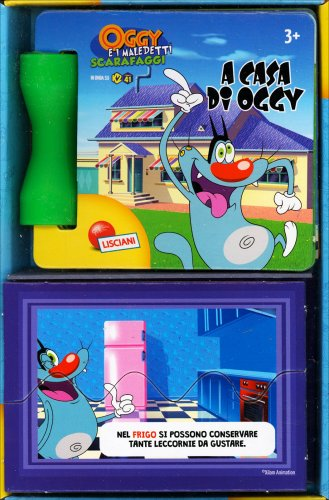 Mini-Libro Oggy a Casa di Oggy
