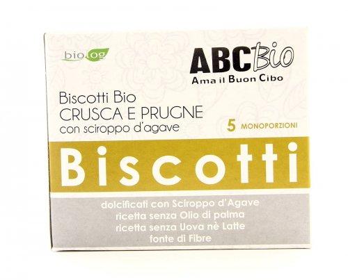 Biscotti Crusca e Prugne Bio