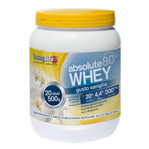Proteine del Siero di Latte 80% - Absolute Whey