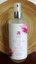 Acqua di Rose da Petali di Rosa Damascena