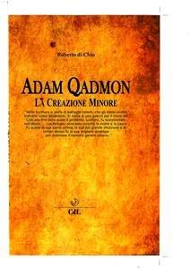 Adam Qadmon (eBook)
