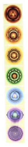Adesivo 7 Chakra Chiaro