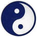 Adesivo Yin-Yang