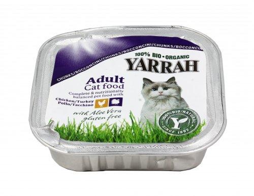 Bocconcini di Pollo e Tacchino (per Gatti Adulti)