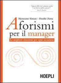 Aforismi per il Manager