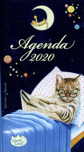 Agenda 2018 il gatto e la luna edizioni del baldo - Gatto solo in casa per 15 giorni ...