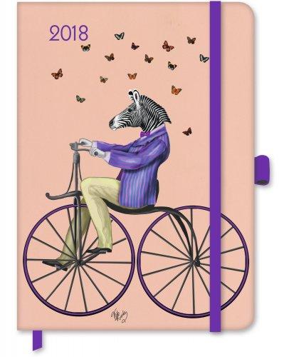Agenda Green Diary - Fab Funky 2018