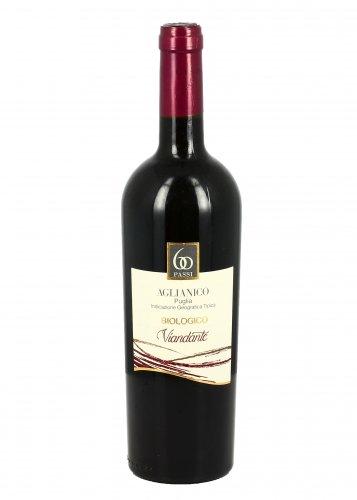 Vino Rosso Bio Aglianico Puglia - Viandante