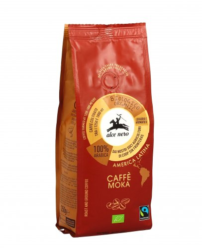 Caffe' 100% Arabica Bio - Moka Fairtrade
