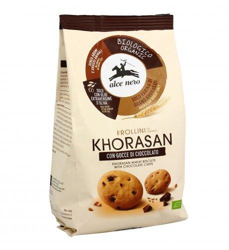 Frollini KAMUT® - grano khorasan con Gocce di Cioccolato