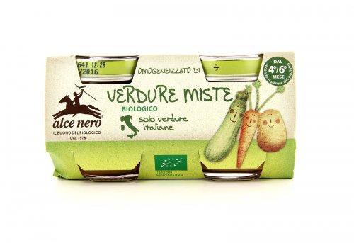 Alce Nero Baby - Omogeneizzato Bio di Verdure Miste