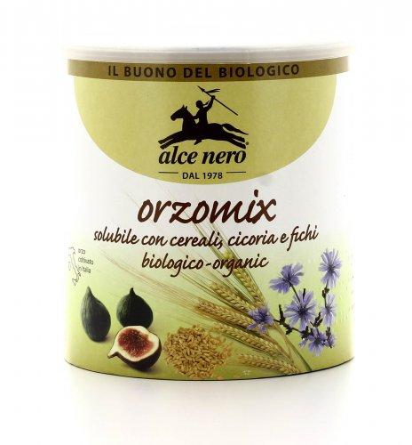 Orzo Mix Bio - Solubile con Cereali, Cicoria e Fichi
