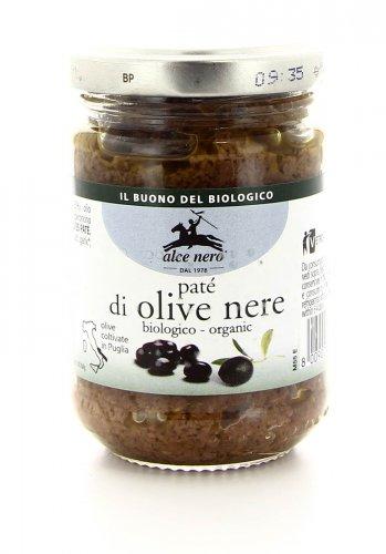 Patè di Olive Nere Bio