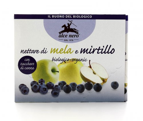 Nettare di Mela e Mirtillo in Brik Bio
