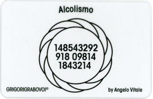 Tessera Radionica 104 - Alcolismo