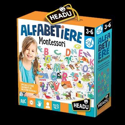 Alfabetiere Montessori 3/6 Anni