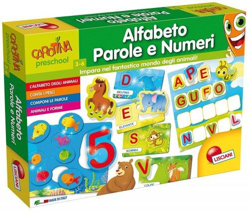 Alfabeto Parole e Numeri - Carotina Maxi