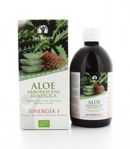 Aloe Arborescens Biologica - Sinergia 1 - Miele