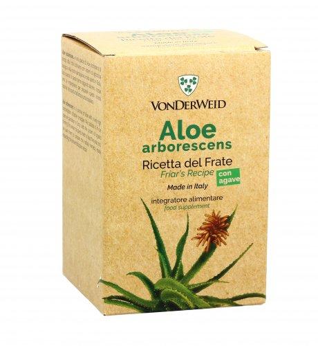 Aloe Arborescens con Agave - Ricetta del Frate
