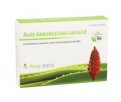 Aloe Arborescens in Capsule
