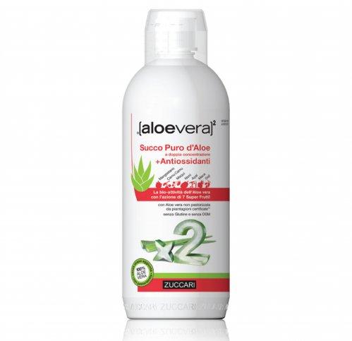 Succo Puro d'Aloe + Antiossidanti - Aloevera2