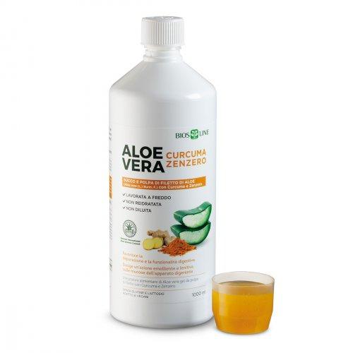 Aloe Vera con Curcuma e Zenzero