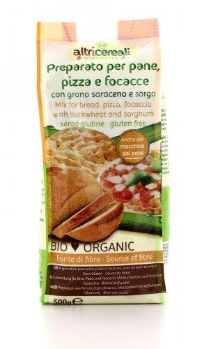 AltriCereali - Preparato per Pane, Pizza e Focacce con Grano Saraceno e Sorgo