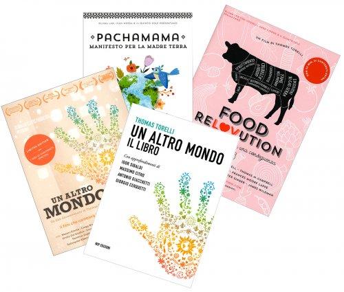 Un Altro Mondo - Libro con DVD + Pachamama DVD + Food Rolovution DVD