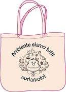 """Borsa Stoffa Mafalda - """"Ambiente Siamo Tutti"""""""