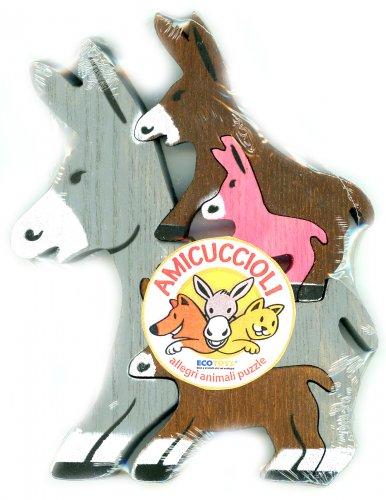 Amicuccioli - 4 Asini Puzzle