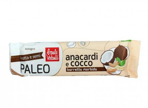 Barretta Morbida Paleo con Anacardi e Cocco Bio