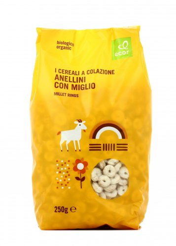 Cereali con Miglio Bio - Anellini