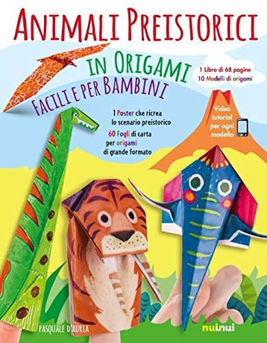 Animali Preistorici in Origami