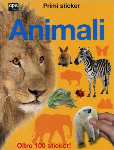 Animali - Primi Sticker