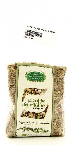 Zuppa del Villano - 3 Cereali e Lenticchie