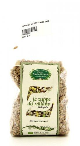 Zuppa del Villano - Farro Orzo e Ceci